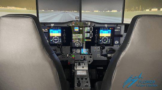 AMS REDBIRD CJ1+ FLIGHT SIMULATOR